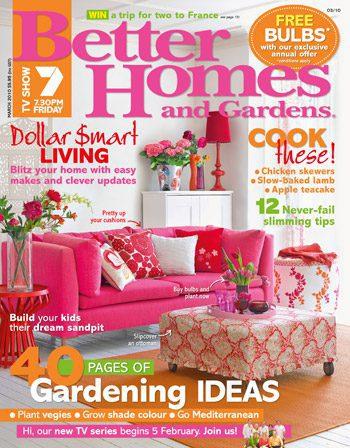 Better Homes & Garden Subscription