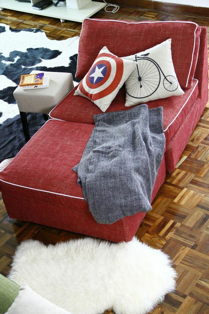 Capitonnè a contrasto per i tuoi copridivani IKEA personalizzati | Comfort Works