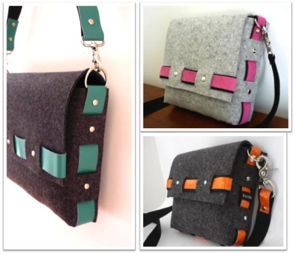 [Wish List] Kazzki's Felt Messenger Bag