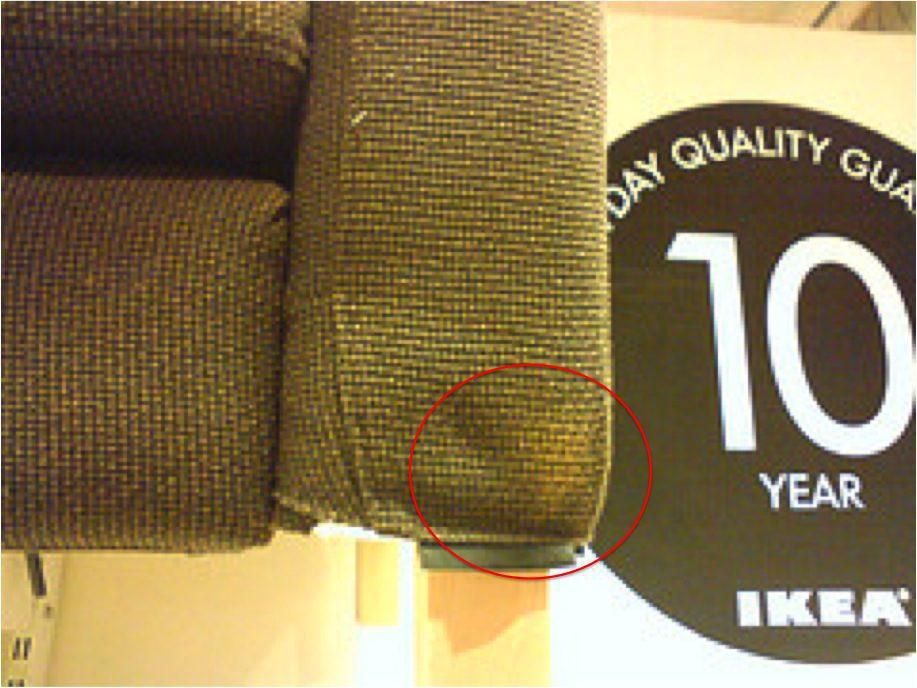 Decoding Discoloration:  The IKEA Karstald Sofa Cover Dilemma Solved