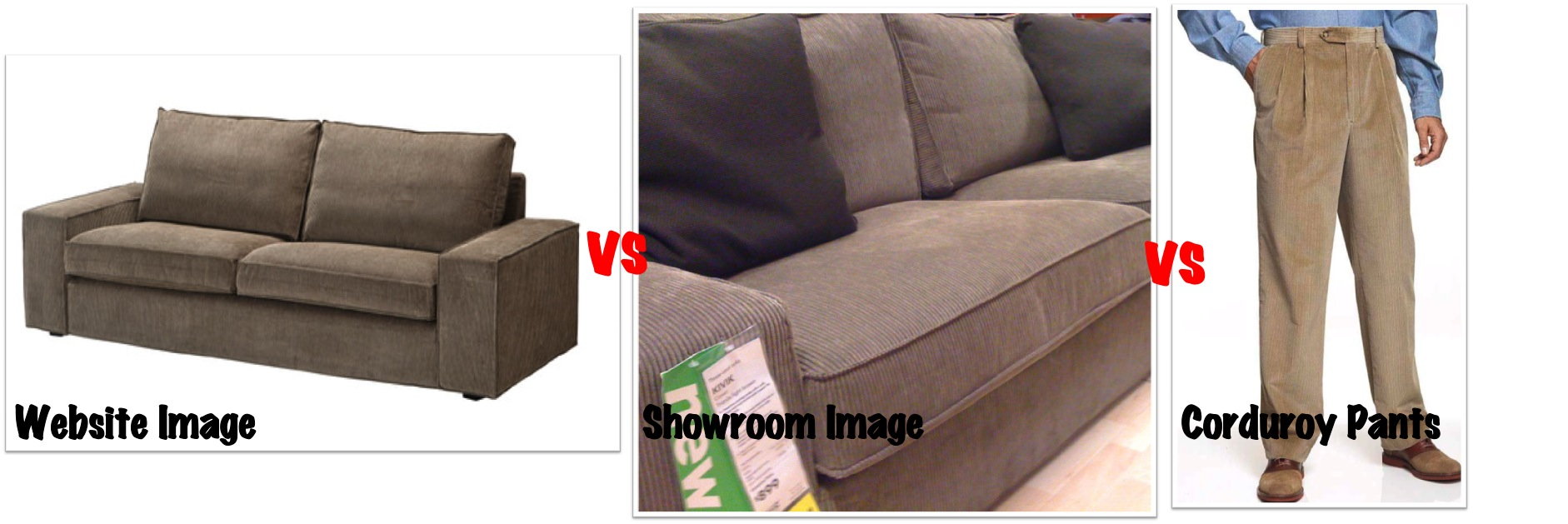Ikea Kivik Light Brown Texture Review