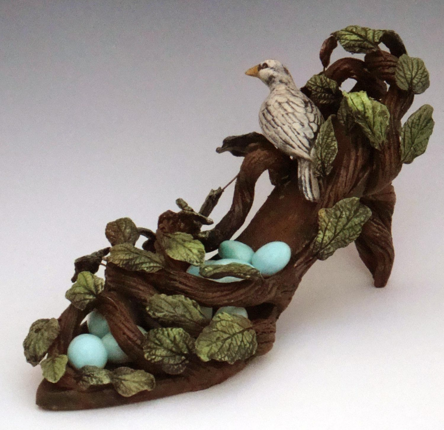 Art Clay Sculpted Bird Nest Ring: [Interview] Mudgoddess Katherine Mathisen