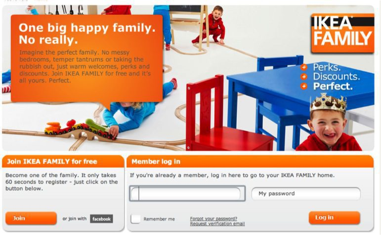 Ikea Australia Happy Family Comfort Works Blog Design