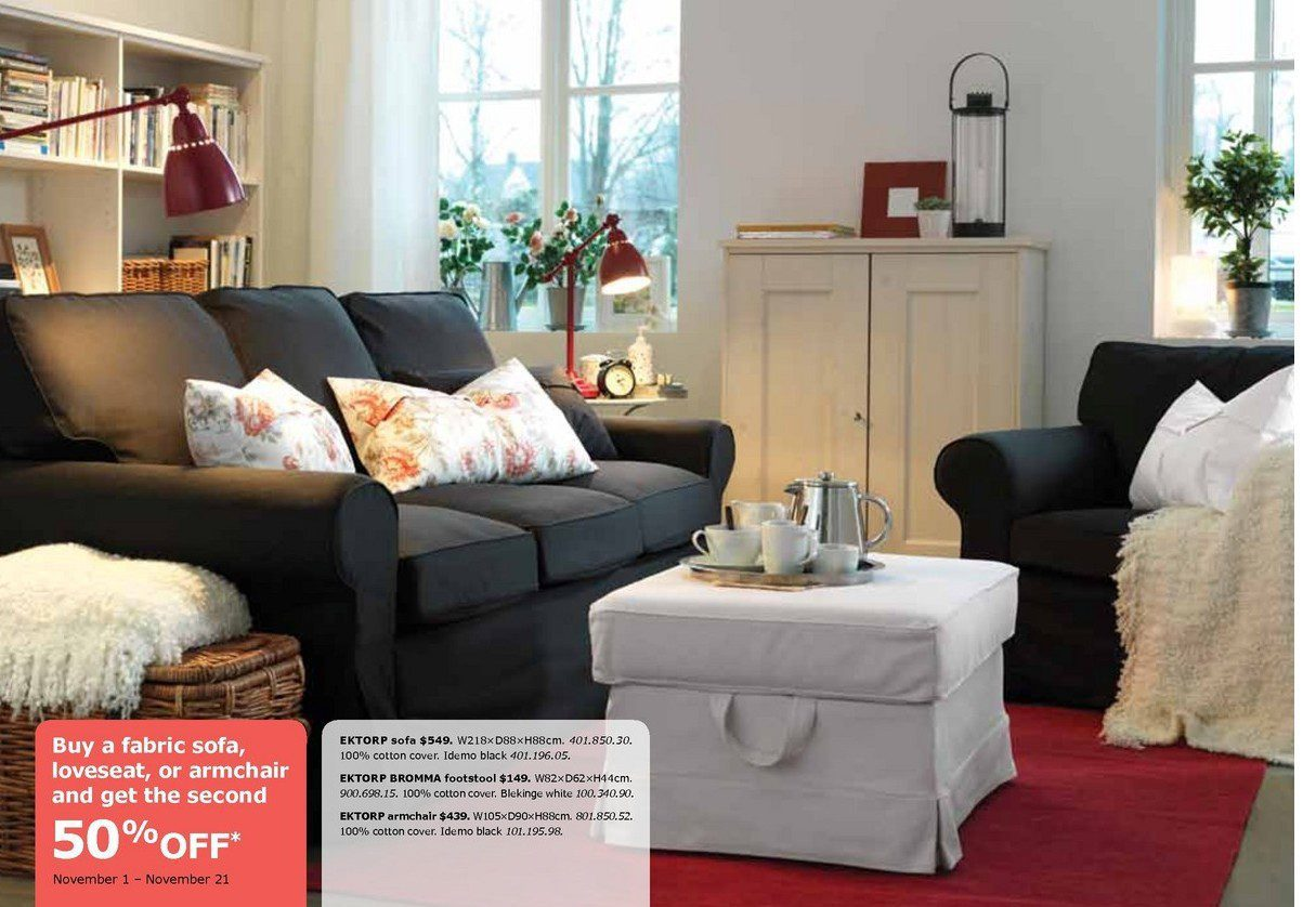 Living Room 50 Off canada! 50% off your 2nd fabric sofa purchase at ikea - comfort