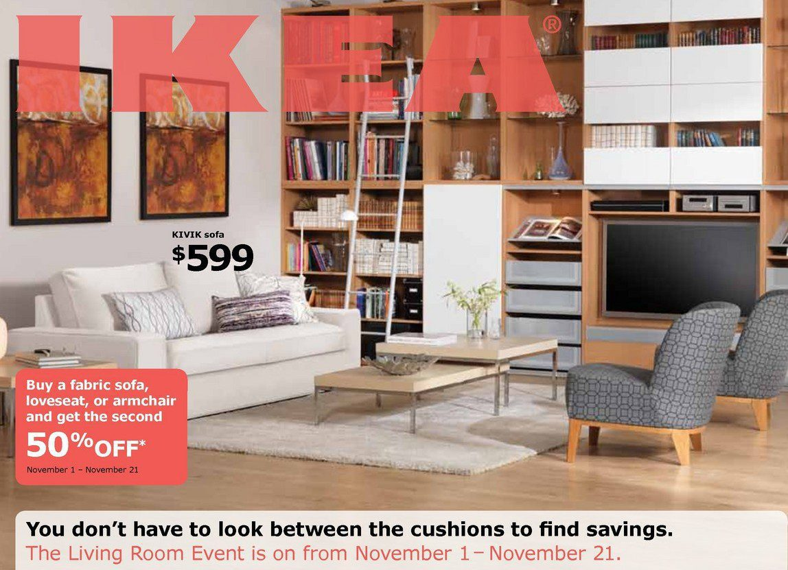 Canada 50 Off Your 2nd Fabric Sofa Purchase At Ikea