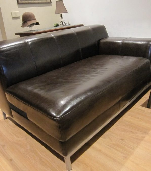 Replacement sofa slipcovers for ikea kramfors leather series for Ikea leather loveseat