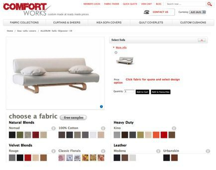 Ikea Allerum Sofa Range Comfort Works