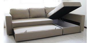 Trasformazione Divano letto Manstad by Comfort Works