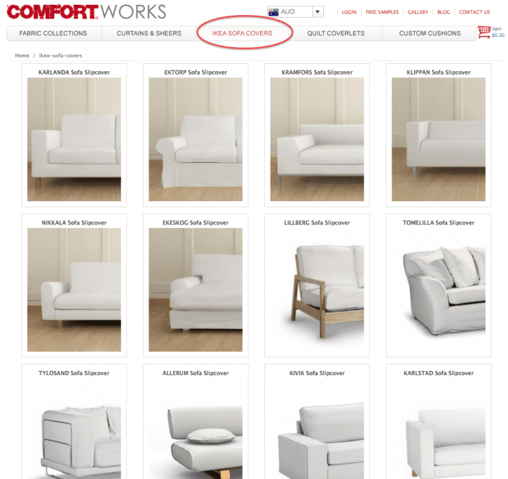 Choose You IKEA Sofa Model. Once ...