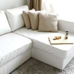 Comfort Works Manstad Sofabed Leather Slipcover