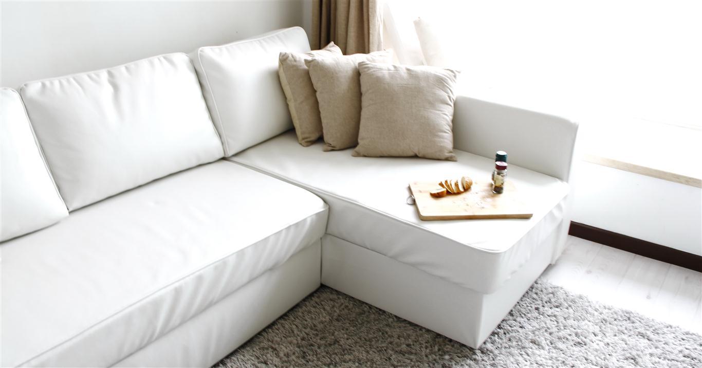 Comfort Works Ledersofabezug für das Manstad Bettsofa