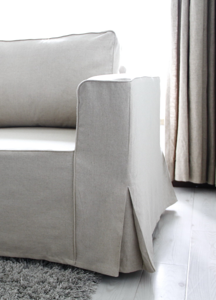 How to buy a Comfort Works custom Manstad slipcover