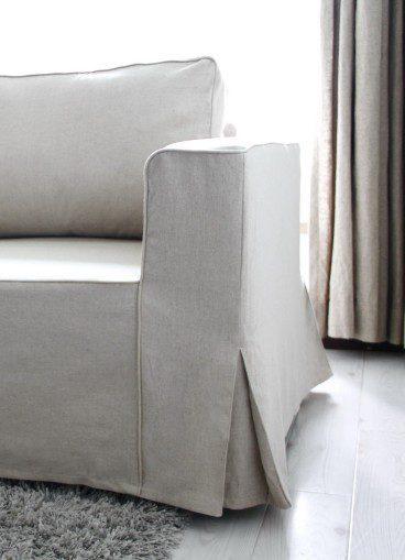Wie kaufe ich einen Comfort Works Sofabezug für das Manstad Modell?