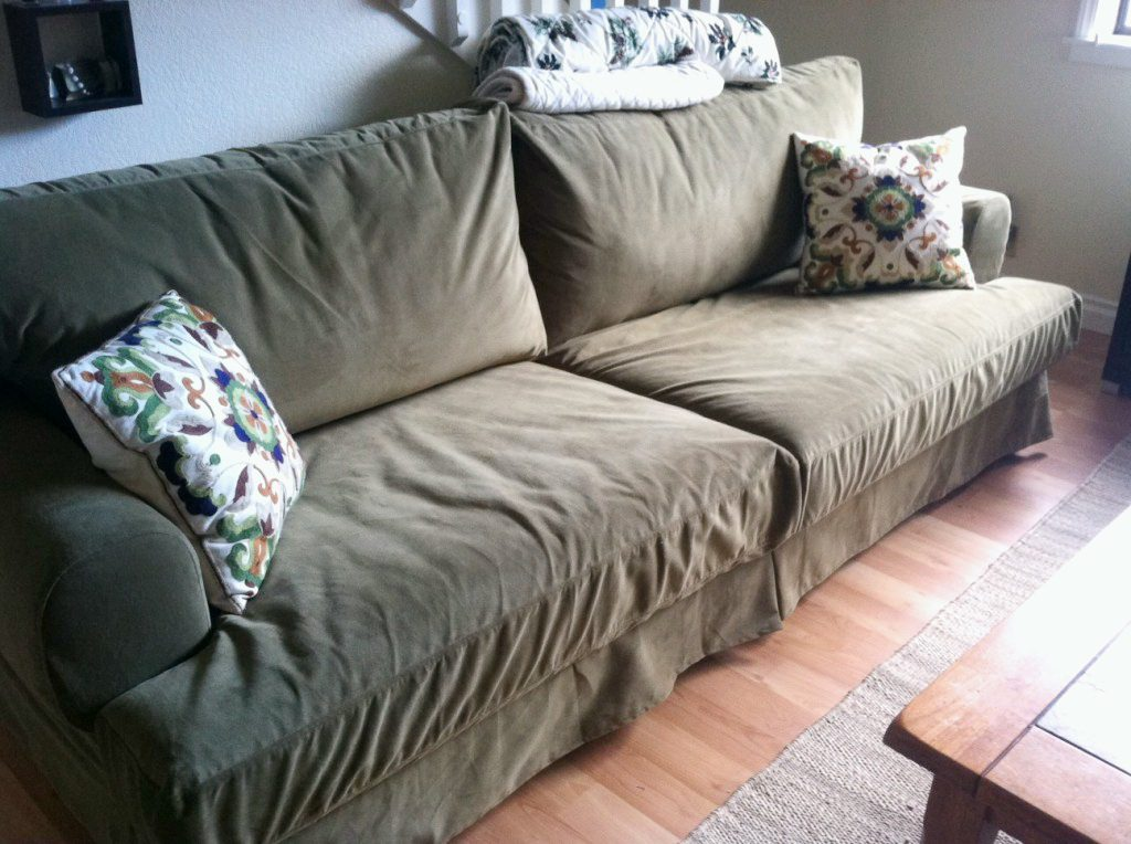 Hy Ikea Ekeskog 3 Seater Sofa In Rouge Green