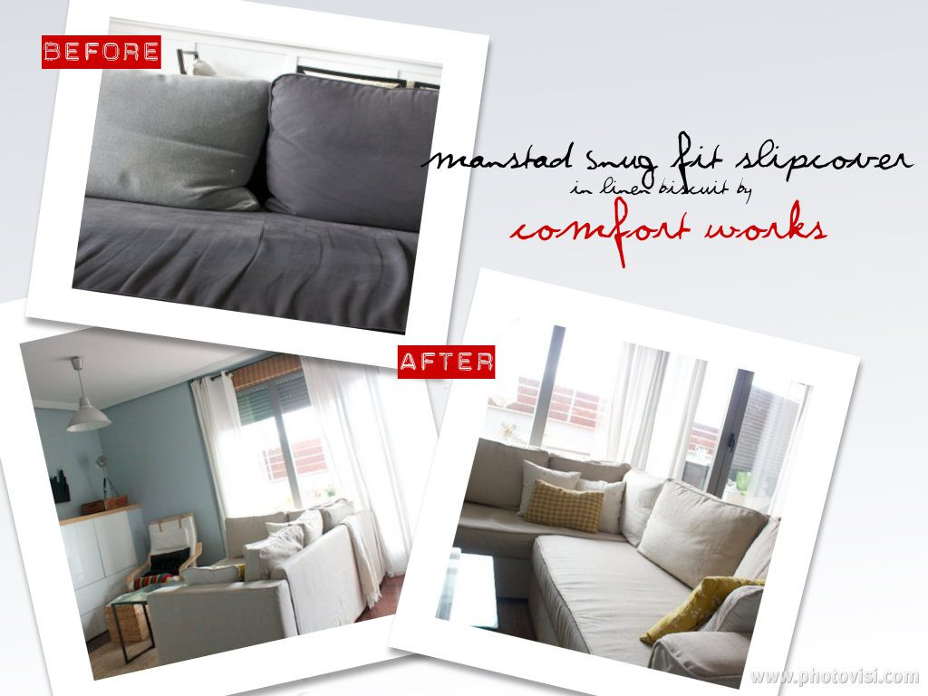 how to fit your manstad snug fit slipcover comfort works