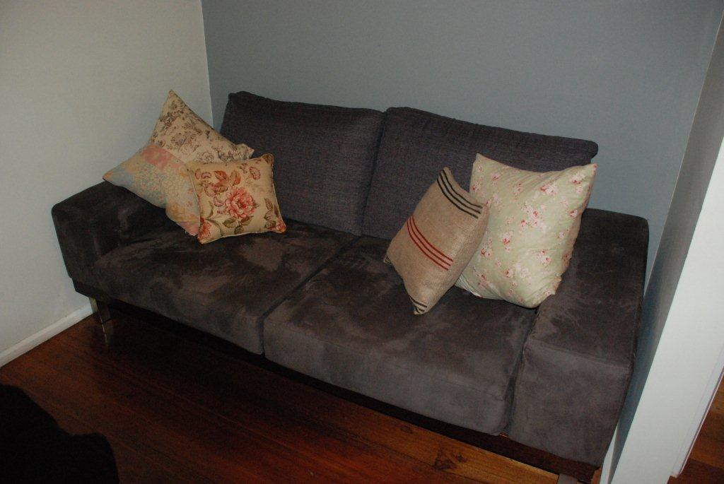 Before Slipcover 2 seater Sofa