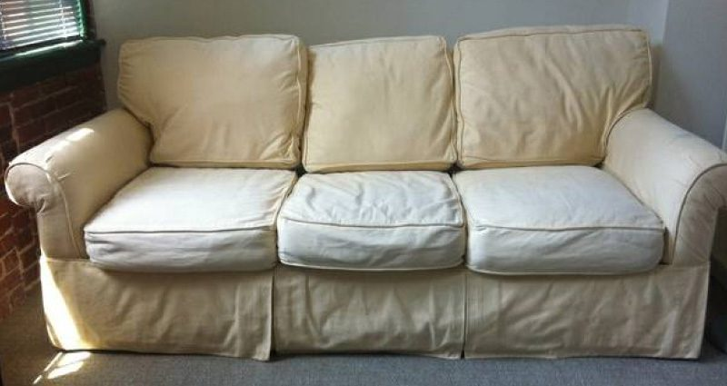 An Alternative To Pottery Barn Sofas Comfort Works Custom Slipcovers