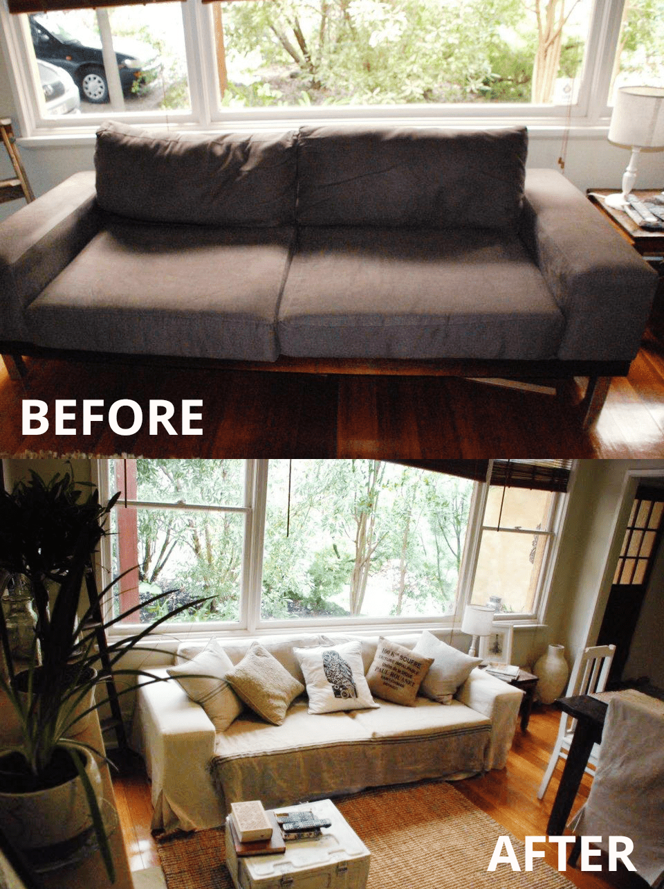 an alternative to pottery barn sofas comfort works custom slipcovers. Black Bedroom Furniture Sets. Home Design Ideas