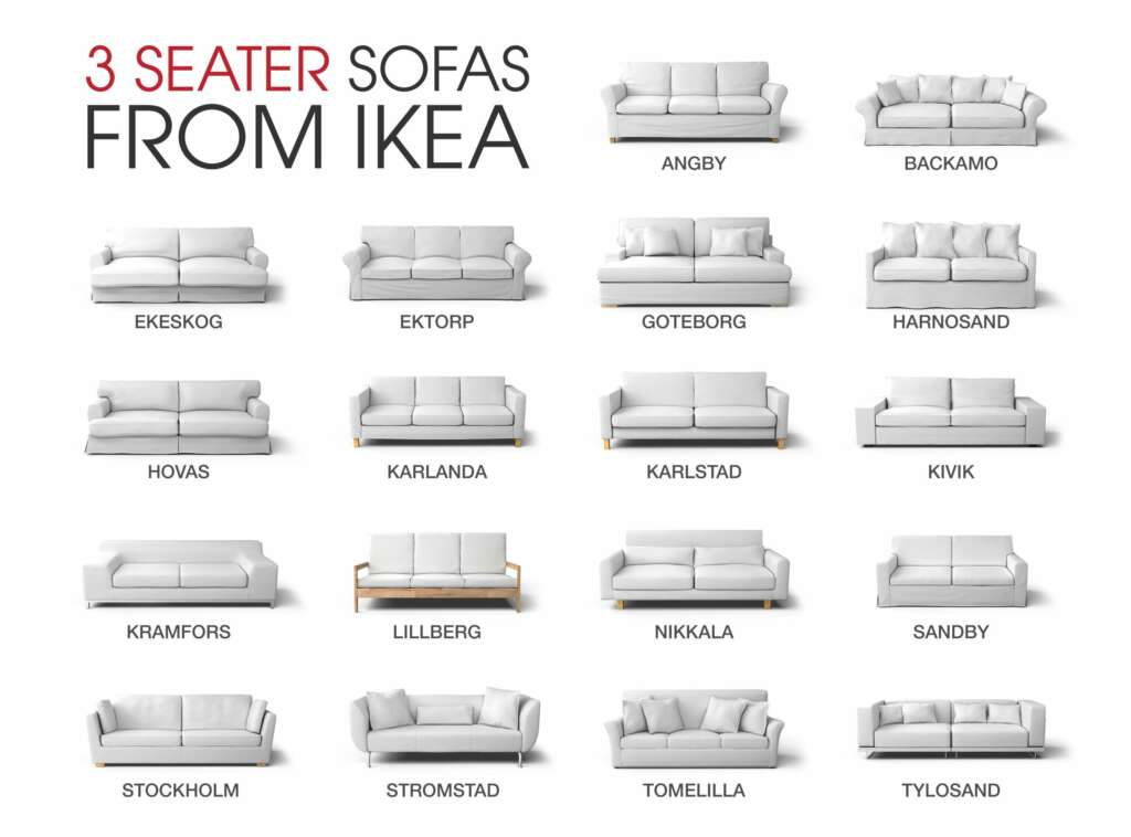 Which IKEA 3 seater sofa is this?