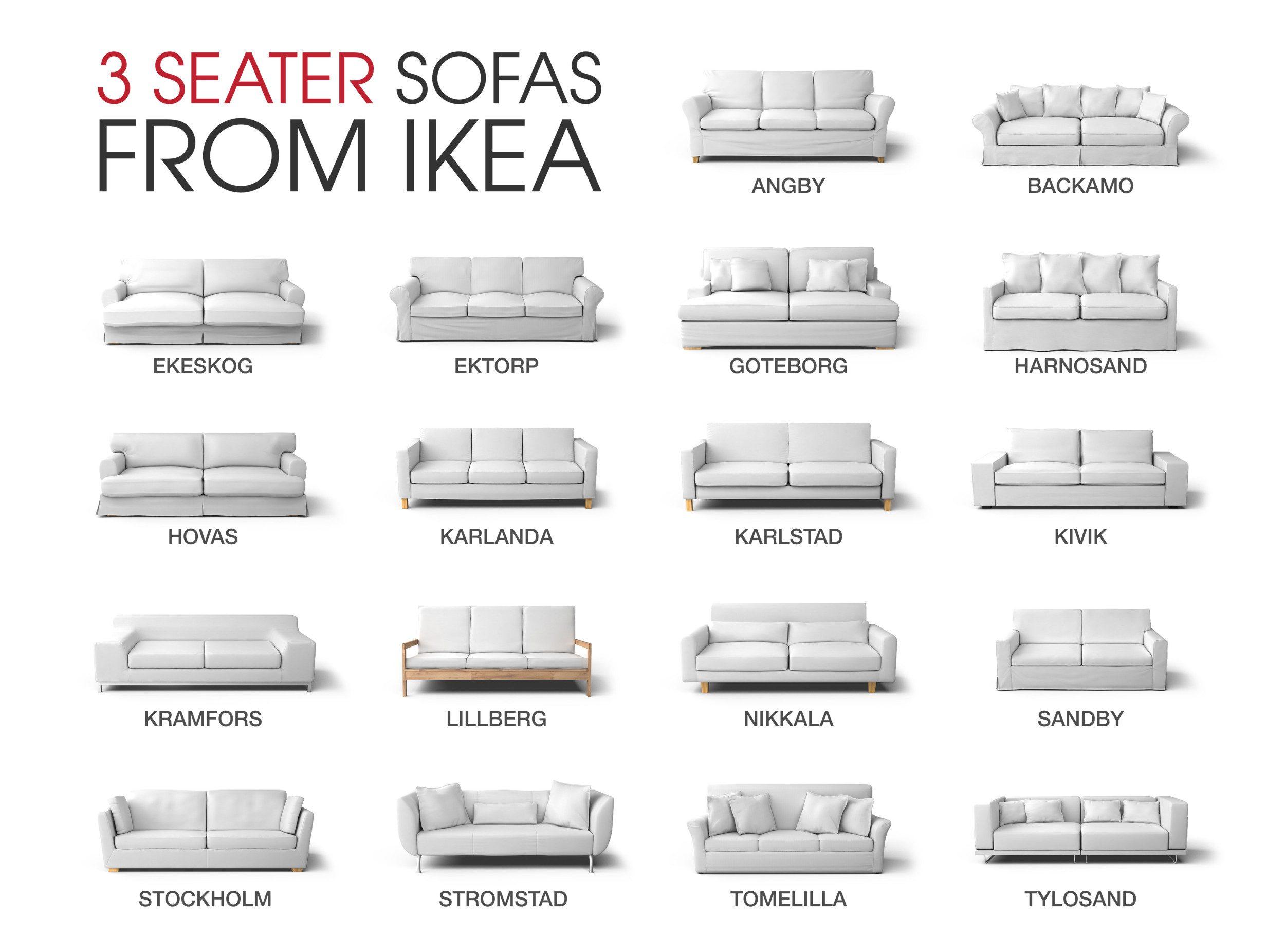 Che divano IKEA a 3 posti è?