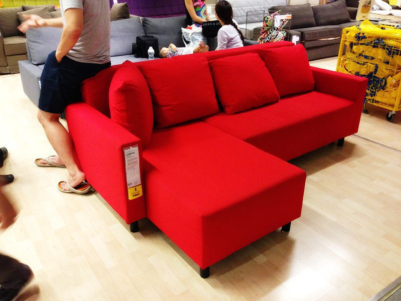 Awe Inspiring Ikea Lugnvik Sofa Bed Review Distasteful But Practical Bralicious Painted Fabric Chair Ideas Braliciousco