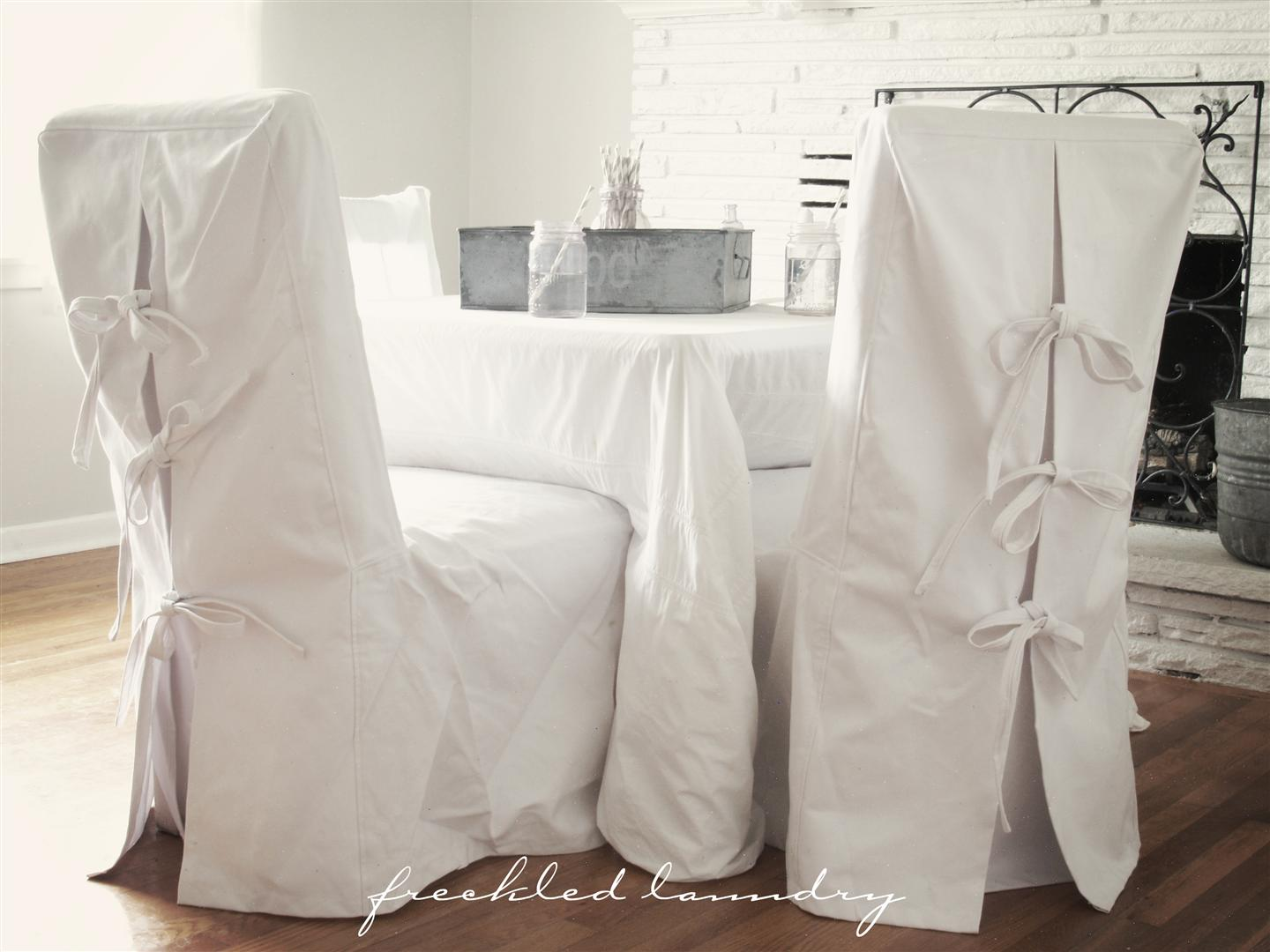 Custom Chair Slipcovers Ribbons And Inspiration