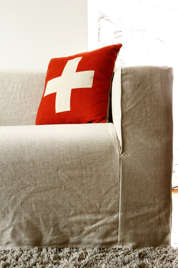 Spruce Up Your Ikea Klippan Sofa Cover In A Loose Linen