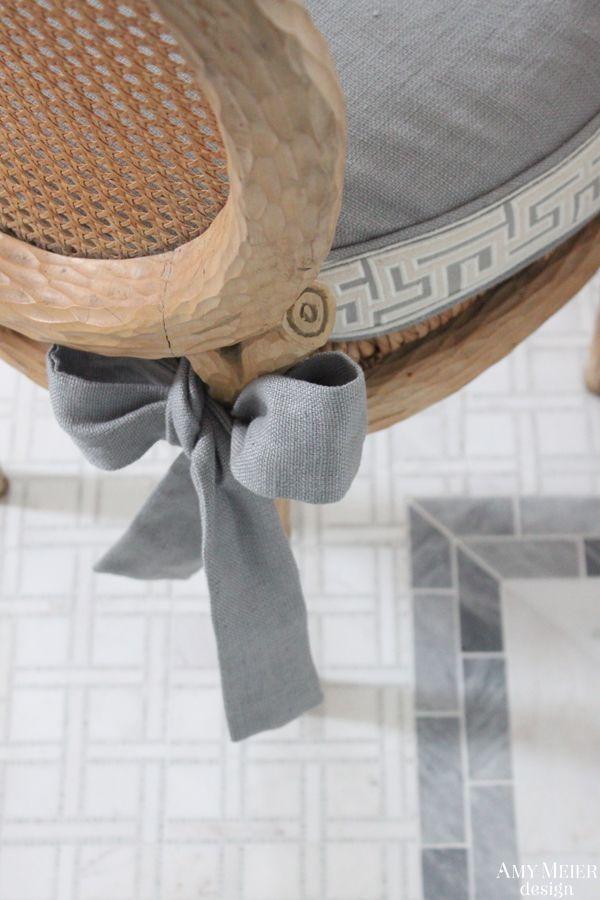 ribbon detail comfort works details slipcover