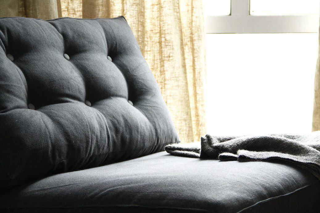 DIY Tufted Sofas and Headboards with Comfort Works' Couch Tufting
