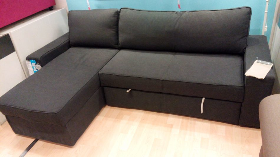 IKEA Vilasund 2 seat sofabed with chaise