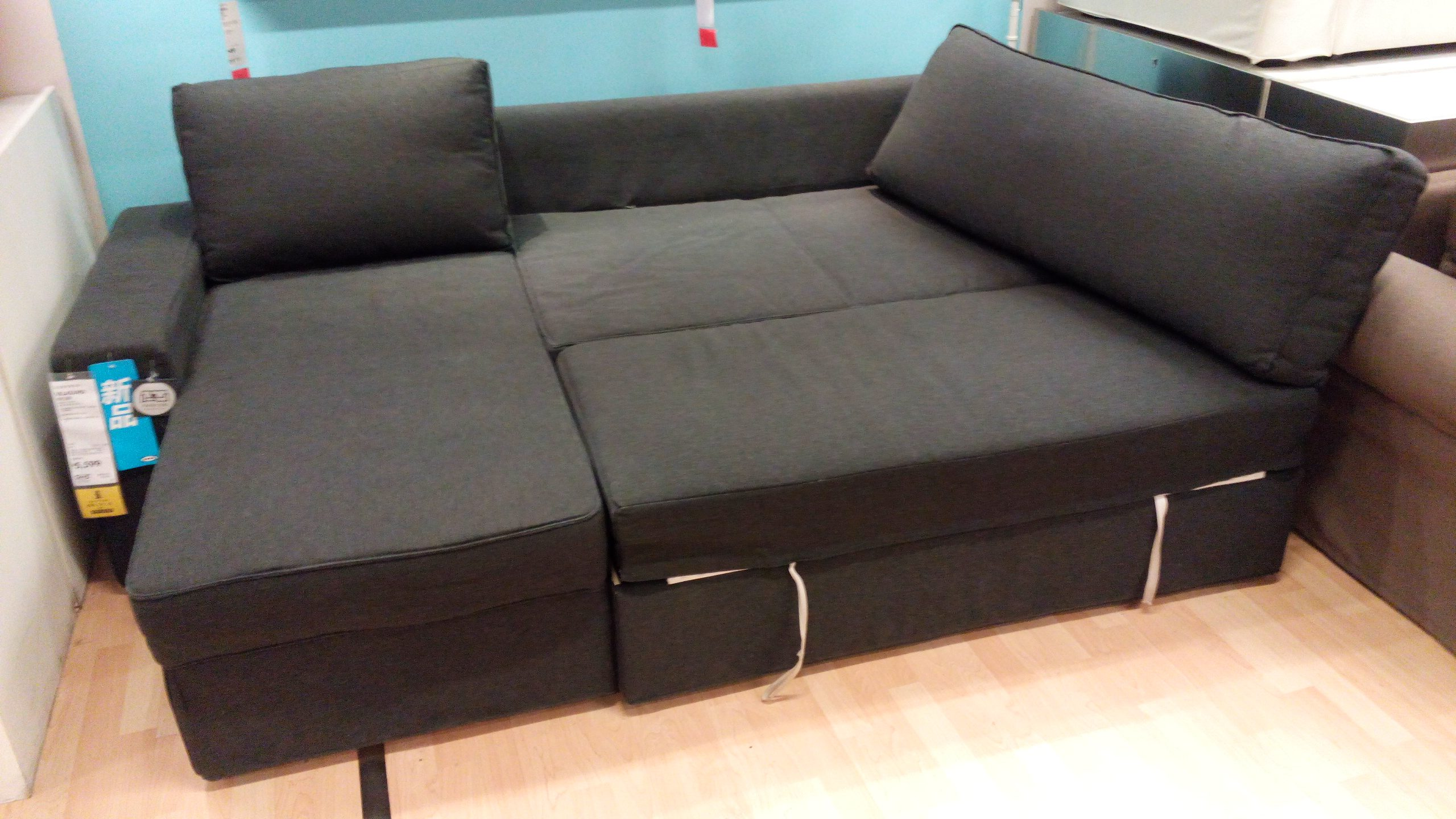 Recamiere ikea stocksund  IKEA Vilasund and Backabro Review - Return of the Sofa Bed Clones!