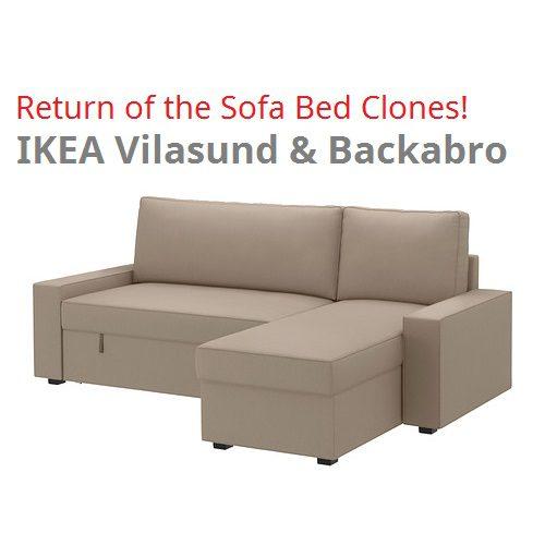 IKEA Vilasund und Backabro Review - Die neuen Bettsofas von IKEA für 2014