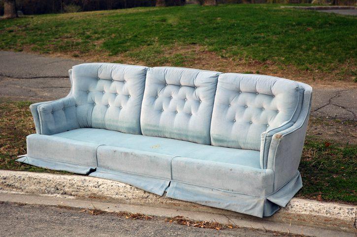 Wohin mit meinem alten Sofa?