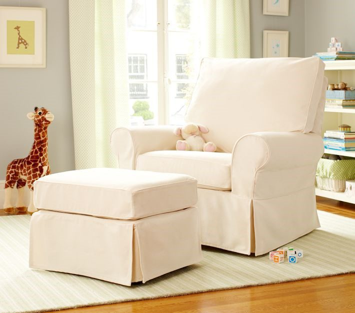 Nursery Armchair And Footstool Creating A Practical Stylish E For Your Newborn