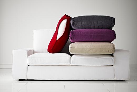 Awesome Kivik Sofa Cover Two Seat Step Melange
