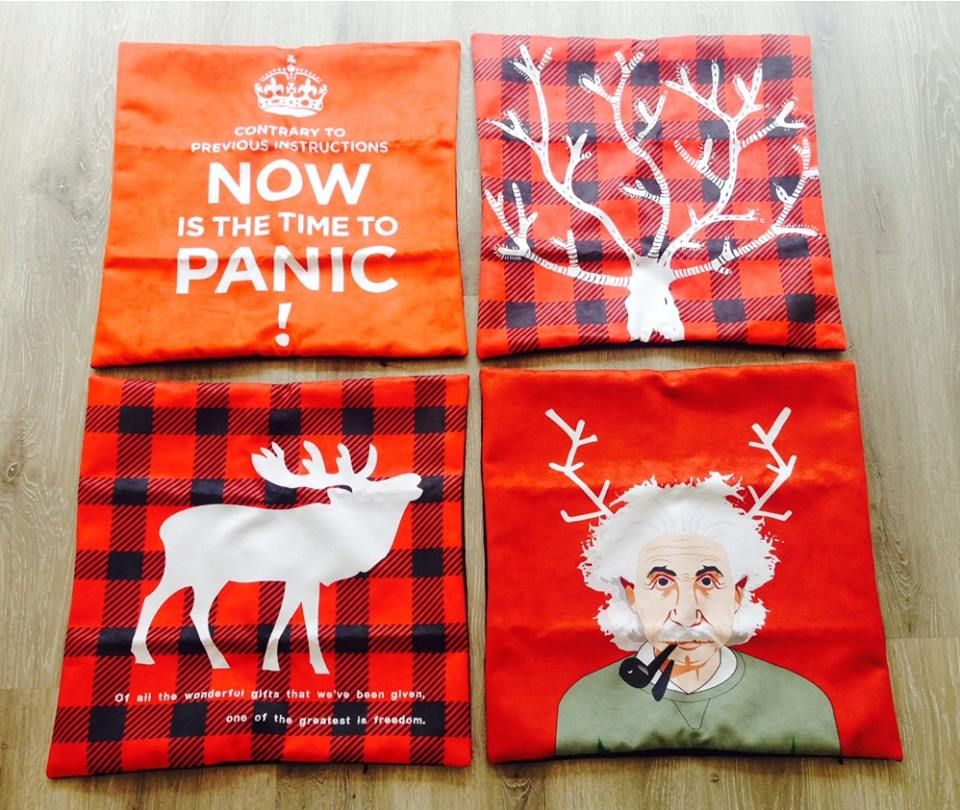 Gift Cards + Hipster Pillow/Cushion Covers - New Stuff!