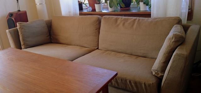 High Quality Stockholm 3.5 Seater In Kino Taupe
