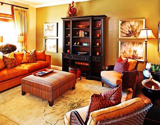 Tis Autumn Living Room Fall Decor Ideas: Living Room Inspiration By Season