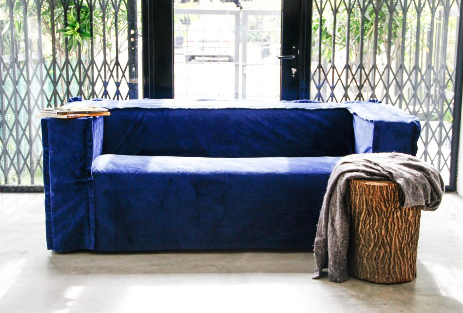 Klippan Sofa Cover Rouge Indigo