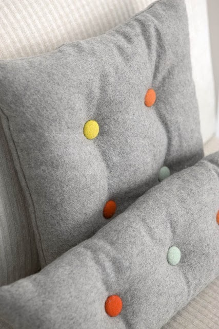 Contrast Button Tufting