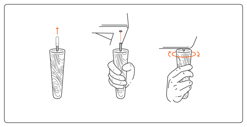 Fitting-Legs instructions