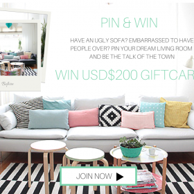 PINTEREST competition banner