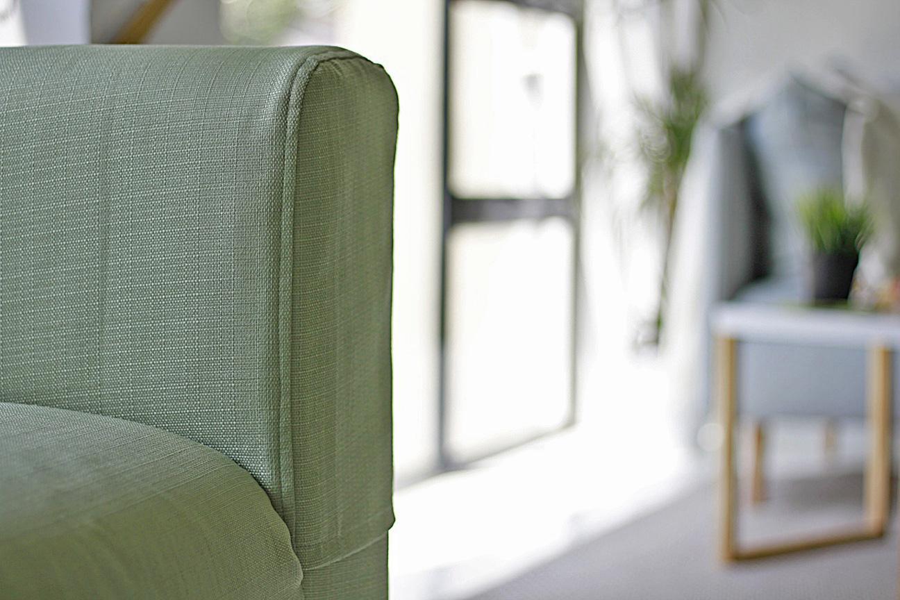 Klippan armrest cover in full camouflage