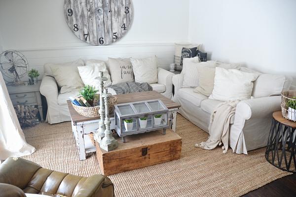 Ektorp Ikea sofa Liz Marie