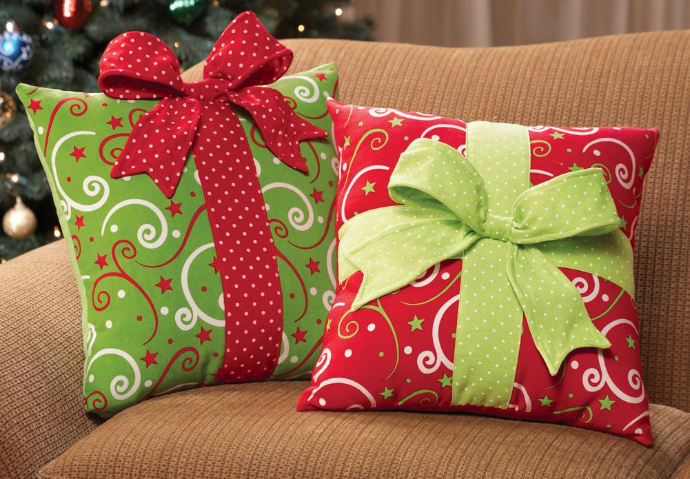 Подарочные подушки своими руками