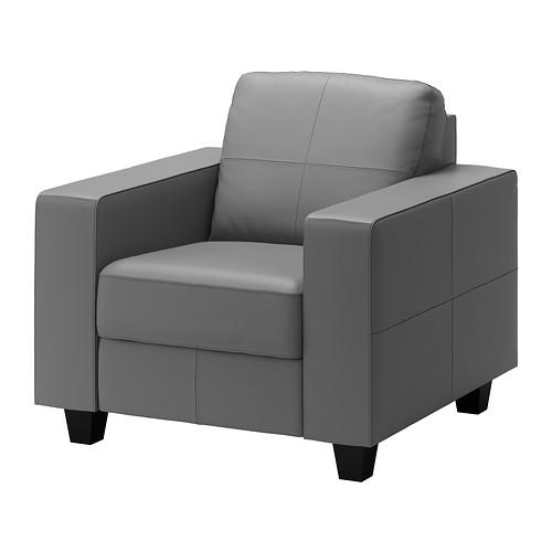 Skogaby leather chair