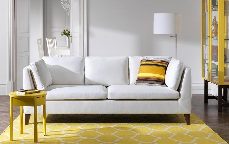 ... Ikea Stockholm 3 Seater Sofa