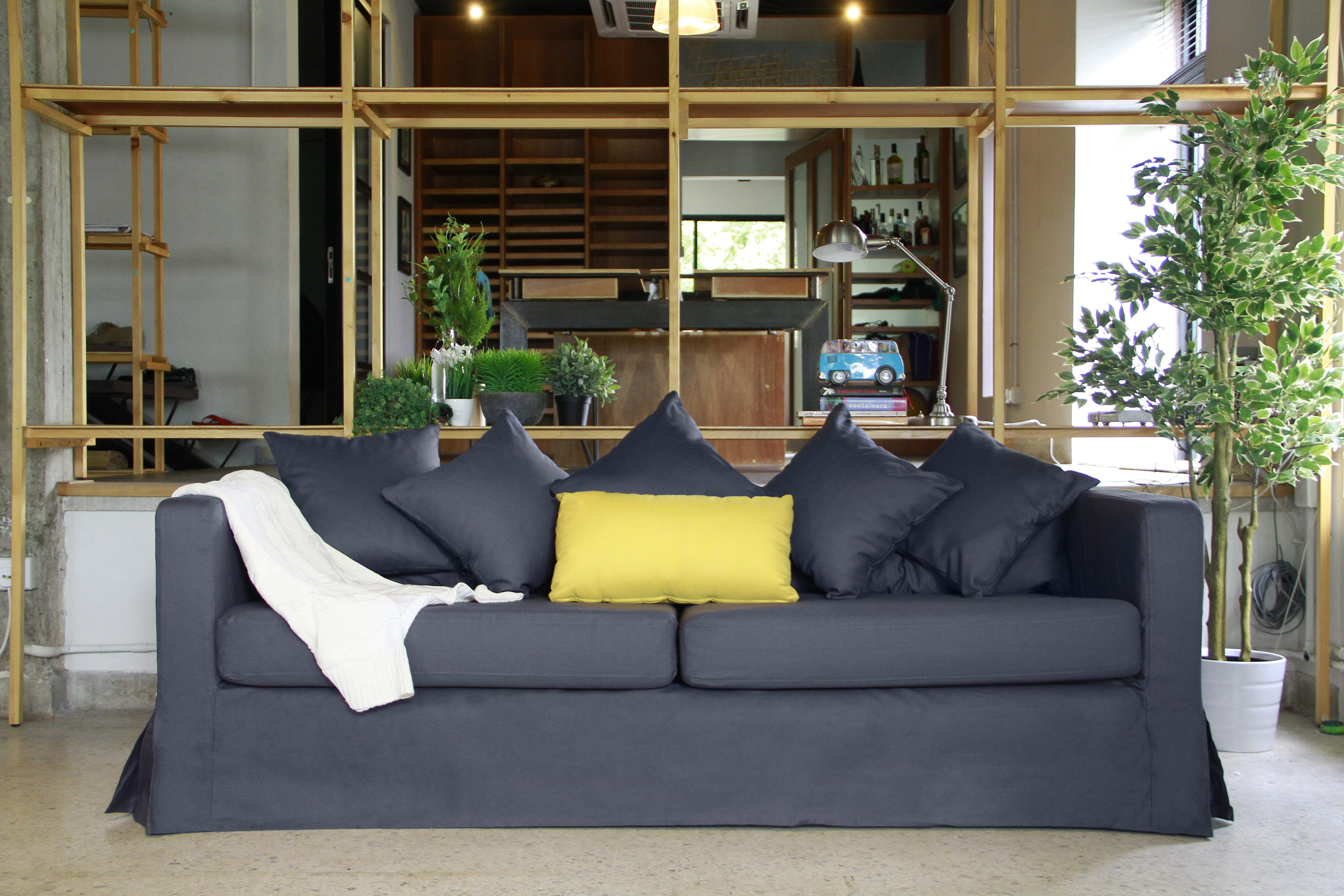 What exactly is a slipcover and how will it look on my sofa?