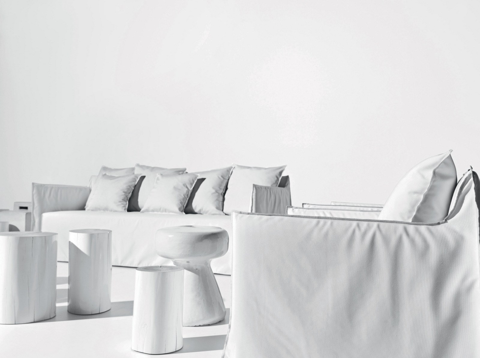 IKEA SÖDERHAMN/ソーデルハムンをゴースト・ソファに大改造 part 1:コンセプト