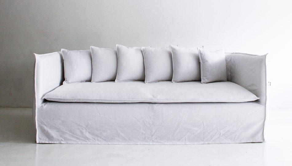 This is Comfort Works' version of the Ghost sofa via IKEA Soderhamn Hack.